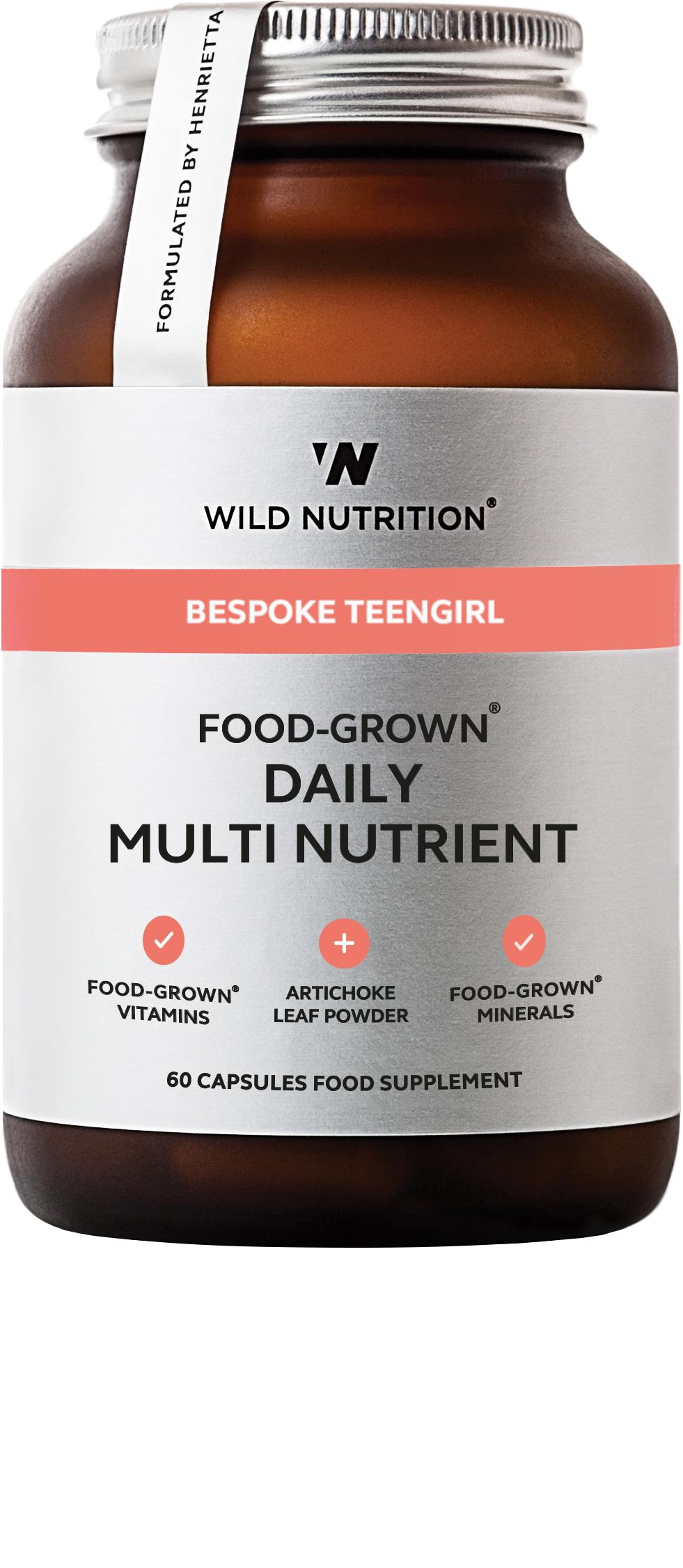 Bespoke TeenGirl Food-Grown Daily Multi Nutrient 60's