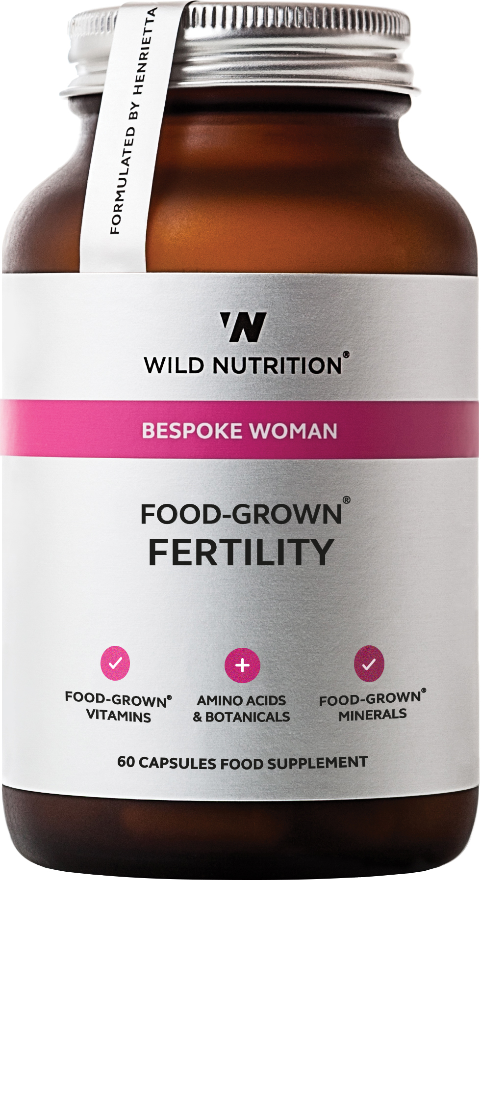 Bespoke Woman Food-Grown Fertility 60's