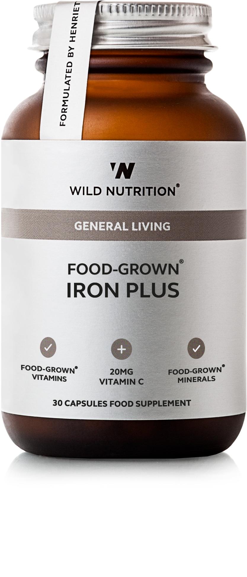 General Living Food-Grown Iron Plus 30's