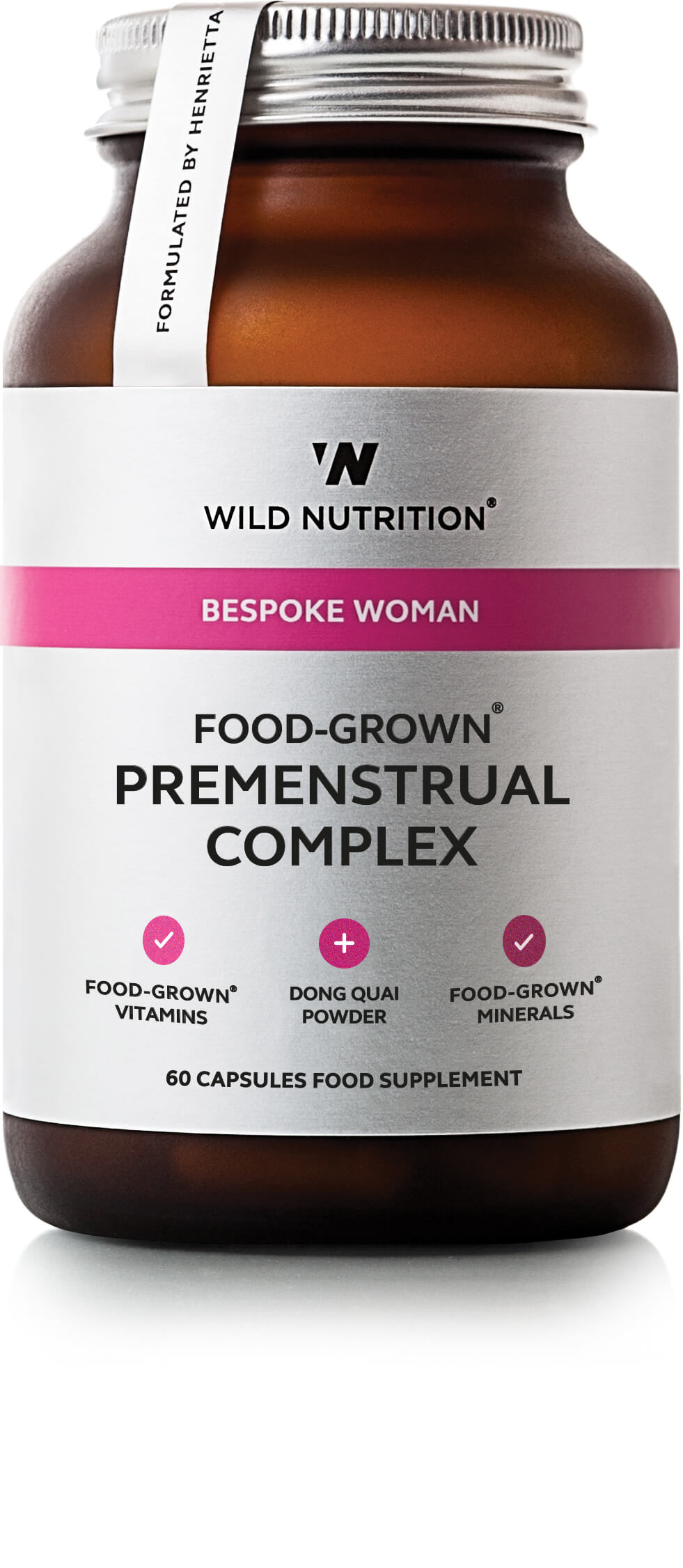 Bespoke Woman Food-Grown Premenstrual Complex 60's
