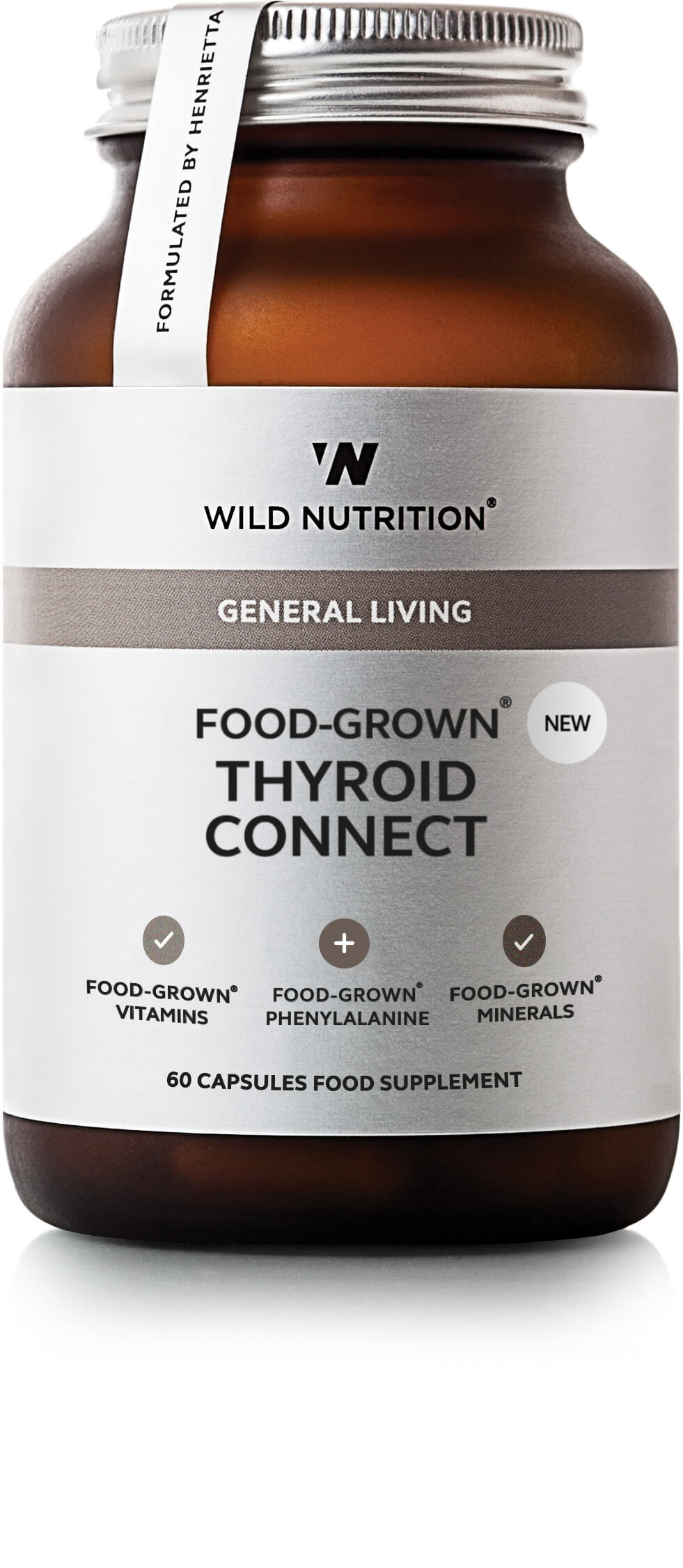 General Living Food-Grown Thyroid Connect 60's