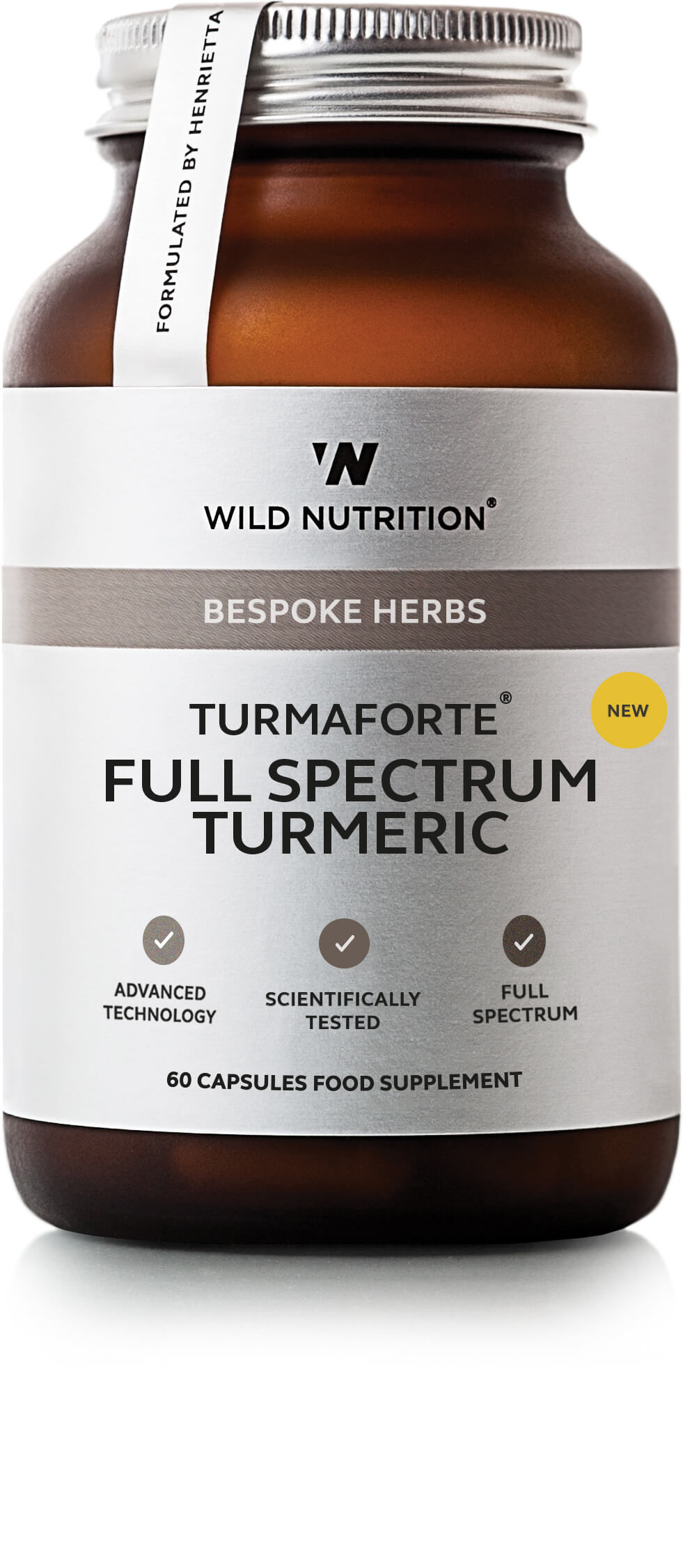 Bespoke Herbs Turmaforte Full Spectrum Turmeric 60's