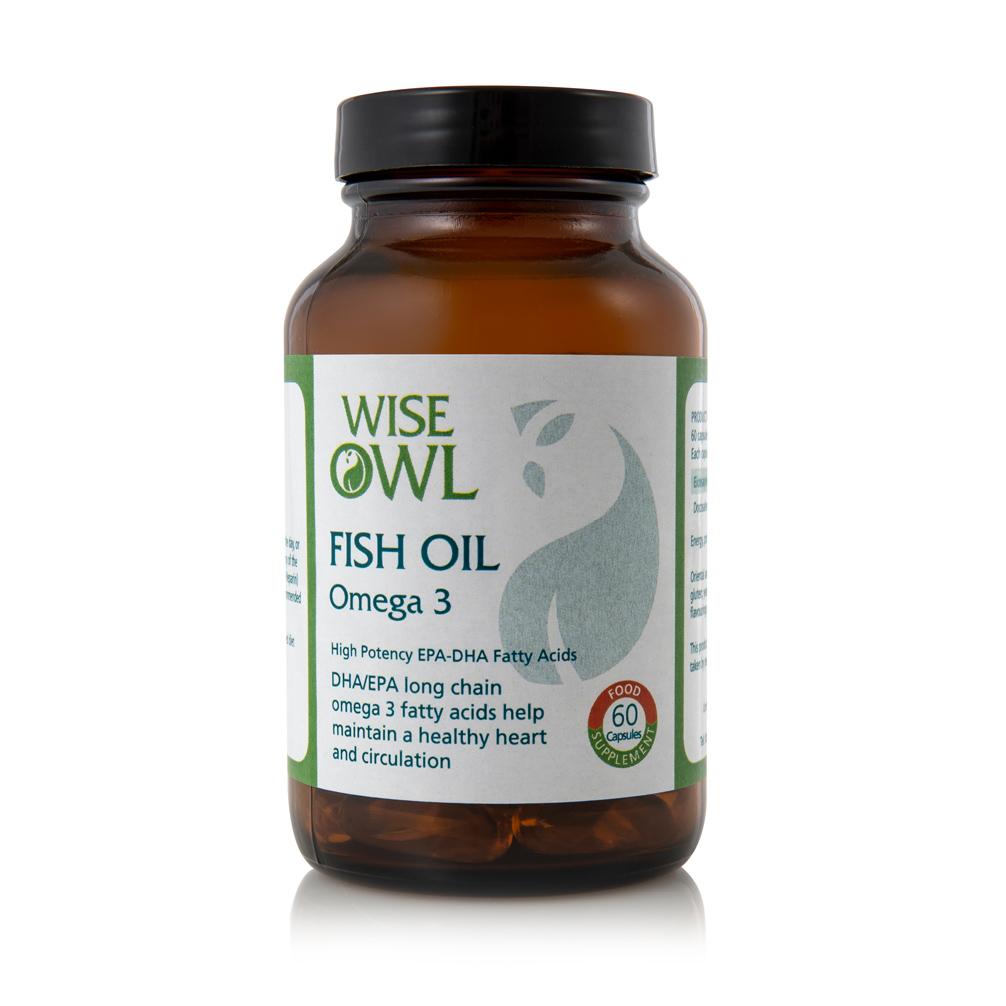 Fish Oil Omega 3 60's