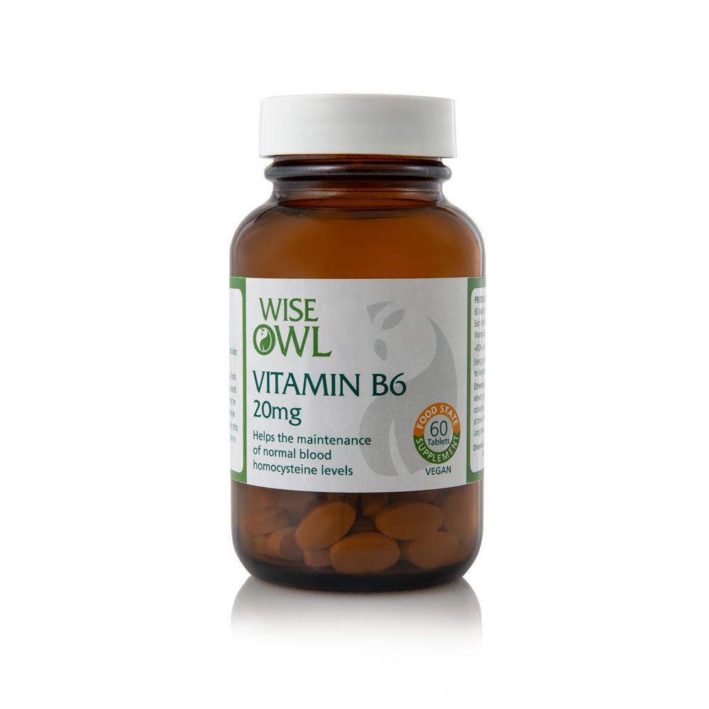 Vitamin B6 20mg 60's