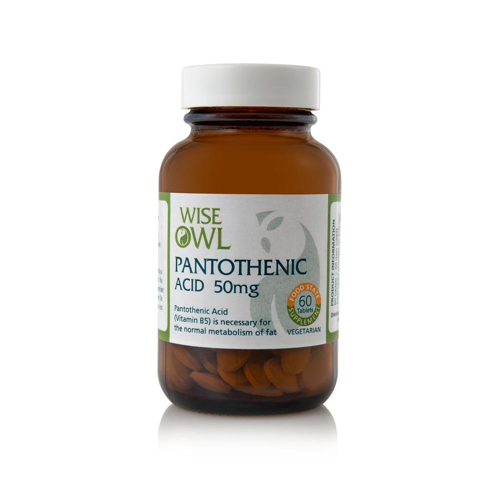Pantothenic Acid 50mg 60's
