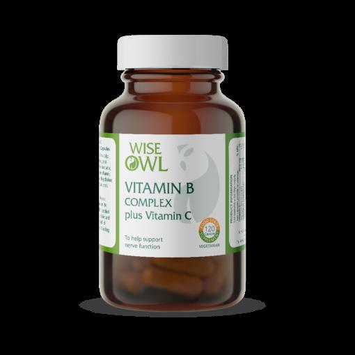 Vitamin B Complex Plus Vitamin C 120's (Currently Unavailable)