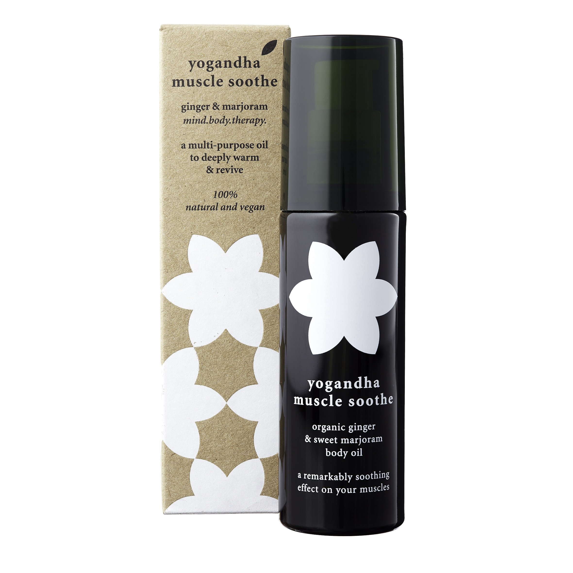 Muscle Soothe Ginger & Marjoram Body Oil 125ml