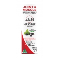 Zen Massage Liniment with Japanese Mint 100ml